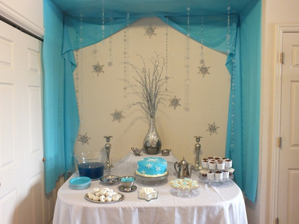 frozen party theme__