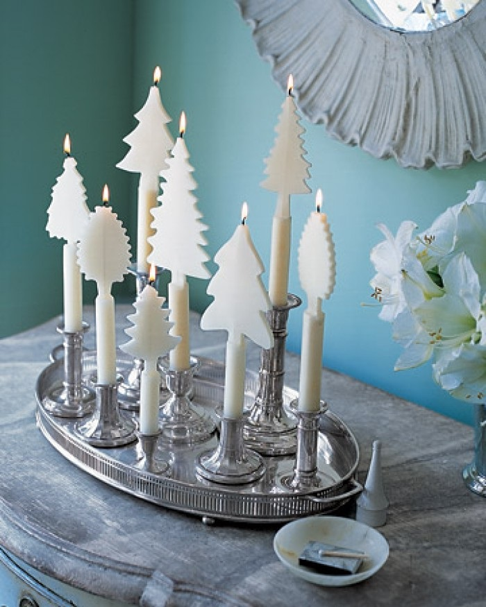 Beautiful-Christmas-tree-candles