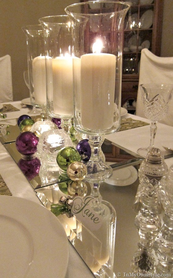 Christmas Candle Centerpiece Ideas2
