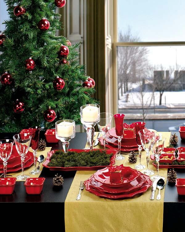 Christmas Candle Centerpiece Ideas3