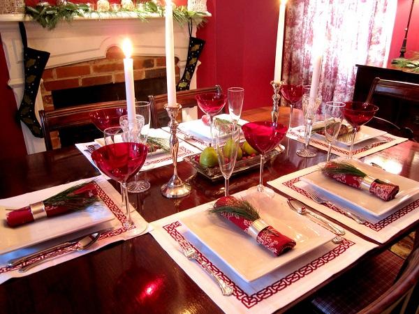 Christmas Candle Centerpiece Ideas4