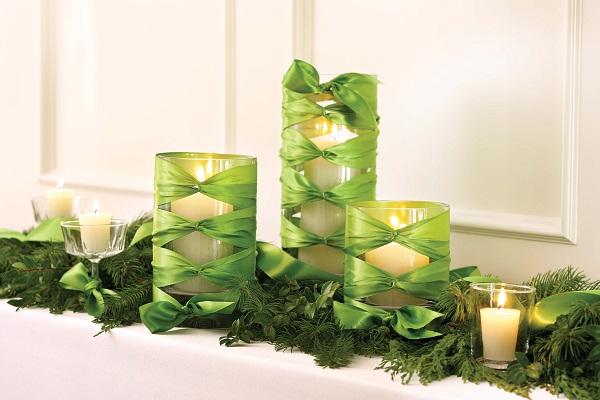 Christmas Candle Centerpiece Ideas5