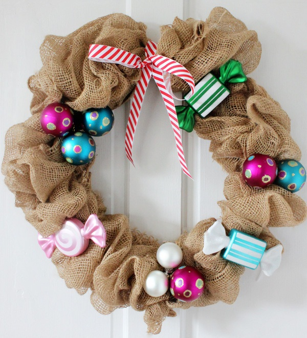 Christmas Wreath Craft Ideas2
