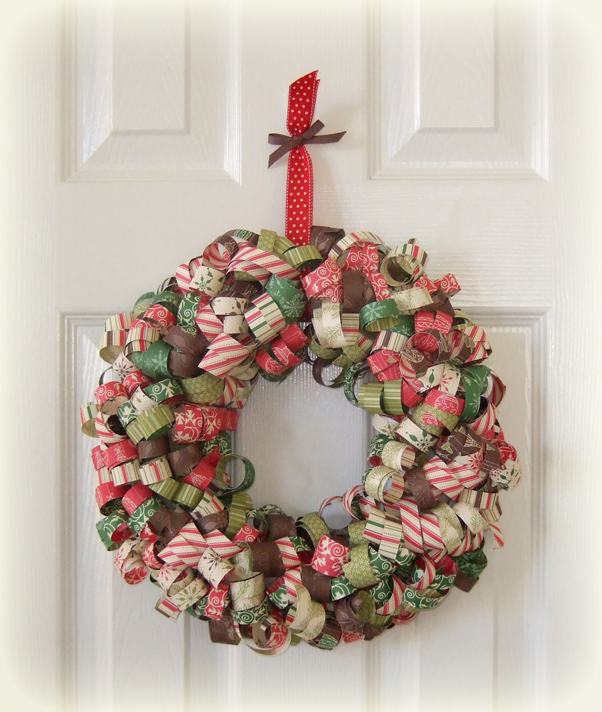 Christmas Wreath Craft Ideas7