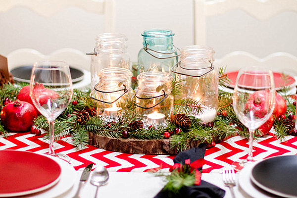 Inexpensive Christmas Centerpiece Ideas1