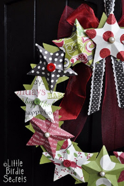 Outdoor Christmas Wreath Ideas2