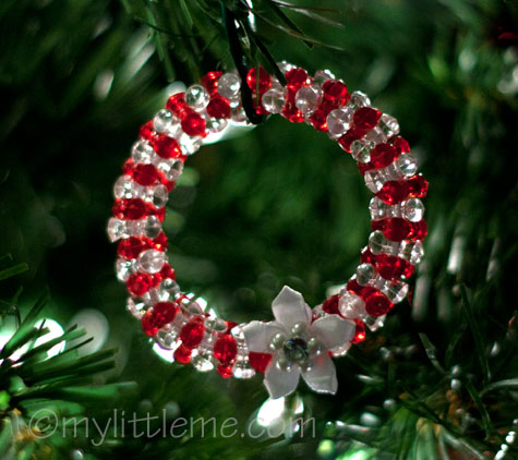 handmade beaded christmas ornaments1