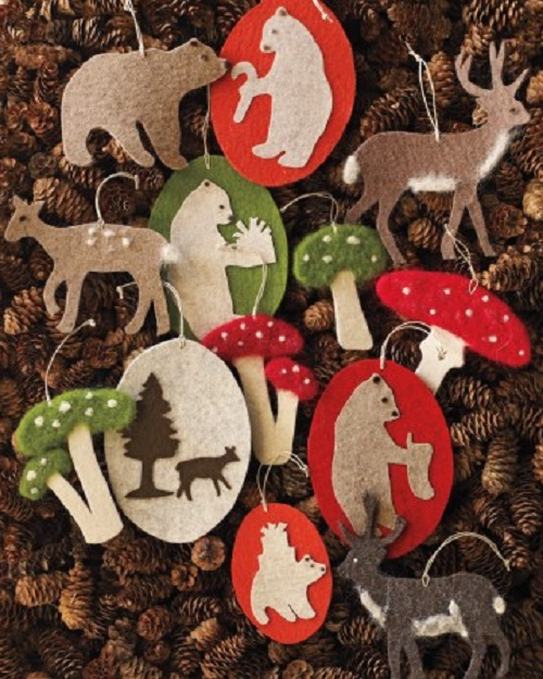 50 Handmade Christmas Ornaments Ideas - Cathy