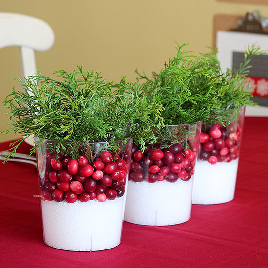 22 most beautiful christmas table decorations cathy Small christmas centerpieces