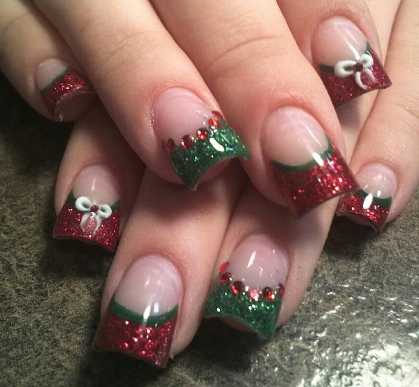 Christmas Acrylic Nail Designs