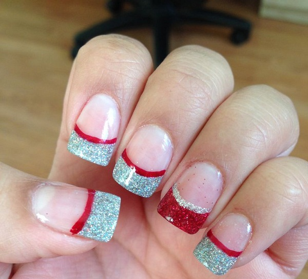 Christmas Acrylic Nail Designs3