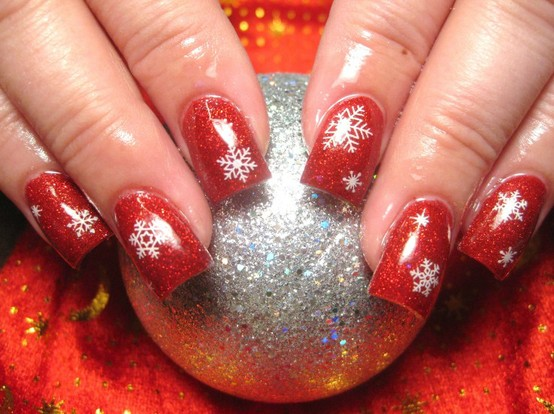 christmas nail art designs pictures1