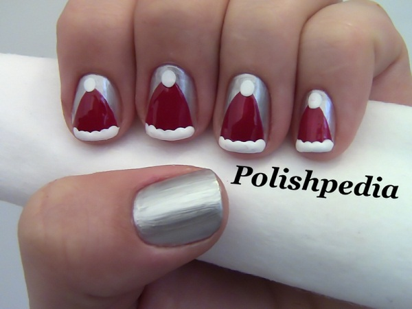 christmas nail art designs1