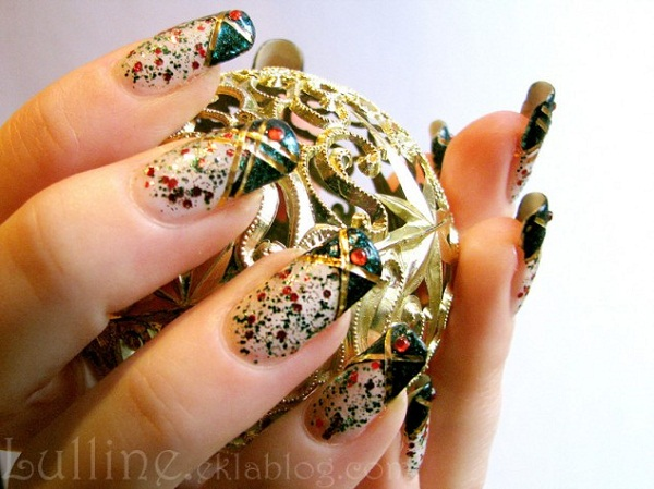 christmas nail art designs2