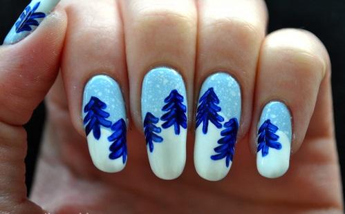 nail art designs for Christmas1