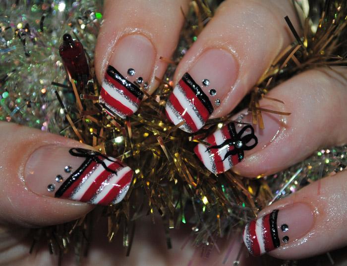 nail designs Christmas