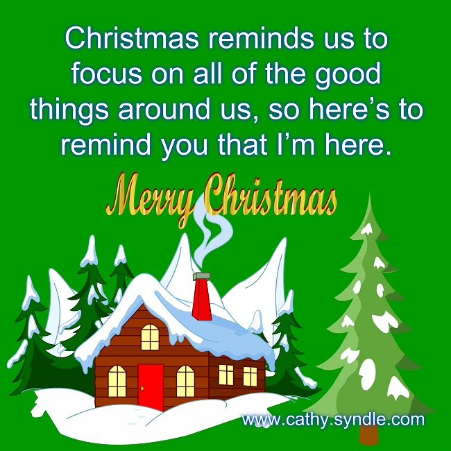 Christmas Messages for Friends - Cathy