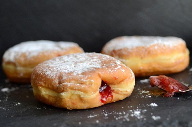 Пончики во фритюре рецепт