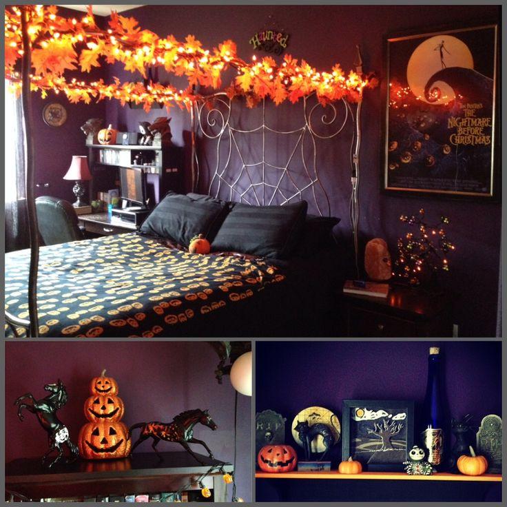 Goth Dorm Room