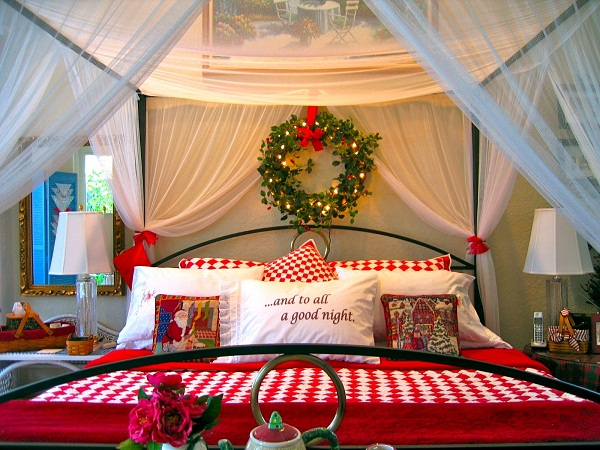 Christmas Decorations To Make For Your Bedroom : Christmas decorations ideas for bedrooms cathy