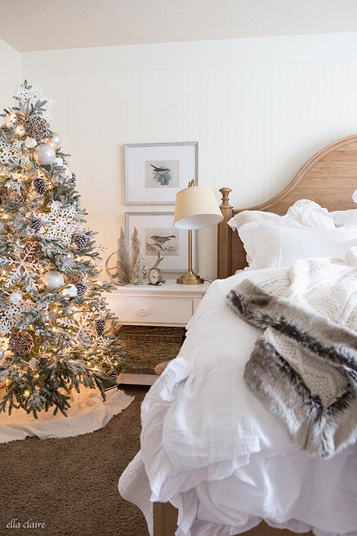 Christmas Decorations Ideas For Bedrooms Cathy