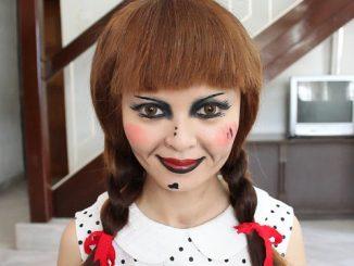 creepy doll makeup tutorial  mugeek vidalondon