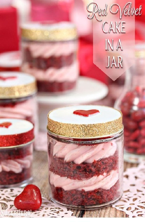 How To Bake A Cake In A Mason Jar