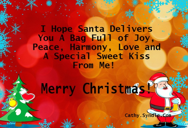 Merry Christmas My Love.Christmas Messages For Husband Cathy